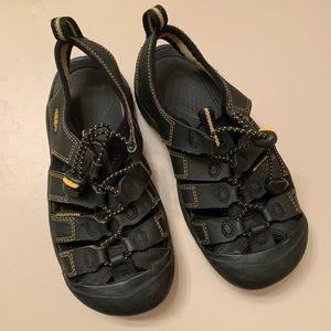 Black Keen Waterproof Sandals Size 3.5